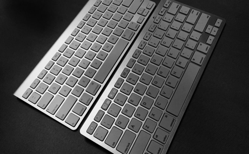 Omoton vs Apple Keyboards