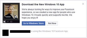 Deceptive Facebook Ads